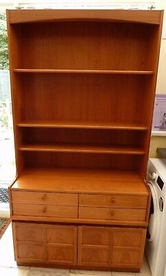 Nathan Wall Unit In Teak