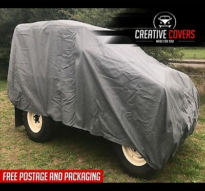 Land Rover Series 1-3 Swb, Defender 90 Car Cover 4 Layers Of Protective Fabric