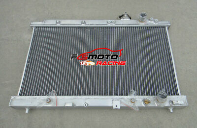 2 ROW DUAL CORE HALF SIZE ALUMINUM RACING RADIATOR FOR ACURA INTEGRA GSR B18C