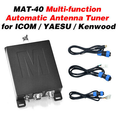 MAT-40 120W Multi-function Automatic Antenna Tuner for 3-54MHz Radio Short Wave