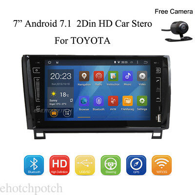 Andorid 7.1 Car DVD Stero GPS WIFI HD In Dash Touch For TOYOTA  Sequoia Tundra