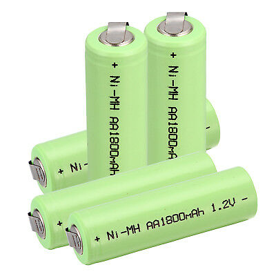 1.2V AA 1800mAh Ni-MH NiMH Rechargeable battery use Electric Shaver razor