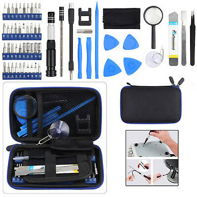 58 in 1 Precision Screwdriver Set Repair Tool 40 bits Magnetic driver Kit AU NEW