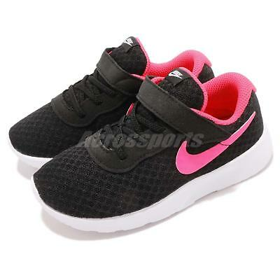 Nike Tanjun TDV Black Pink White Toddler Infant Baby Shoes Sneakers  818386-061