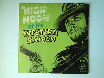 LP Schallplatte High noon at the western saloon * Fuzzy Walker and hillbillys