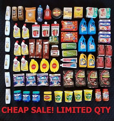 Coles Mini Little Shop ALL $4 each CHEAPEST ON EBAY!!!  Stocking Fillers Collect