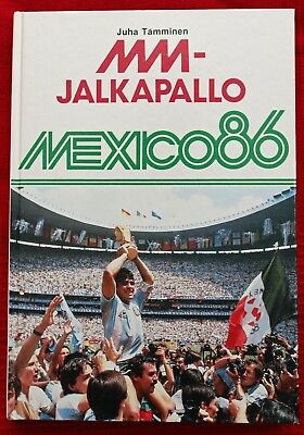 Mexico 1986 World Cup Book issued in Finland
