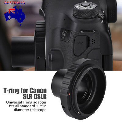1.25 Inch Telescope Mount+T T2 Lens Adapter for Canon DSLR Camera 600D 1100D EOS