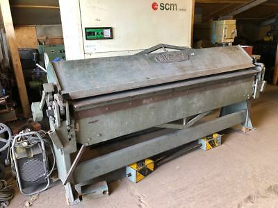 Edwards metal folder / pan  / truefold 8/16AS