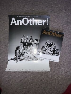 ANOTHER MAGAZINE VOL 2 ISSUE 7 2018 Willy Vanderperre + Poster 200 Made Fashion