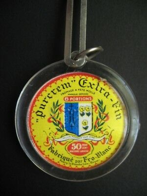Porte-clés - 074 - Fromage Purcrem - Fro-Blanc - Pagny (Meuse)