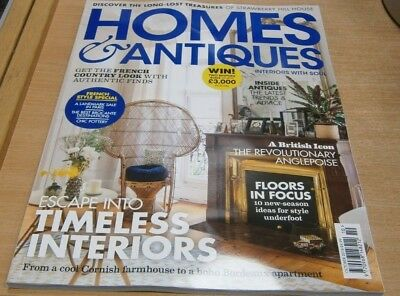 Homes & Antiques magazine Oct 2018 Timeless Interiors + French style special