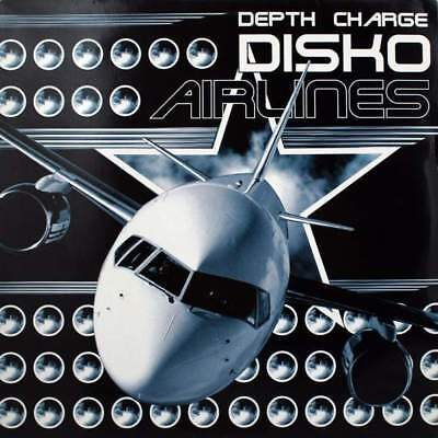 "2 x 12"": Depth Charge - Disko Airlines - D.C. Recordings - DC09"