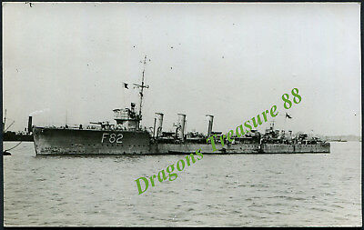 H.M.S. THISBE (F82), Postcard, Royal Navy R-class Destroyer,1917 - 1936