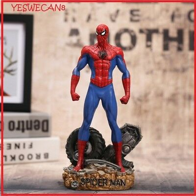 Super Hero Spiderman Action Figures Toys Anime Spider Man Collectible Model Boys