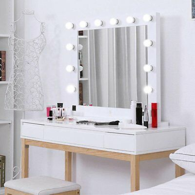 Hollywood 32 Lighted Vanity Mirror W13 Led Table Top Wall Mount
