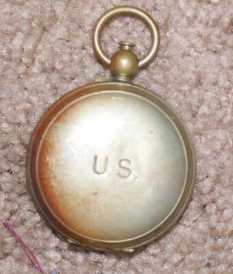 Original Wwii Us Army Aaf Airborne Paratroopers Wittnauer Compass  Nr
