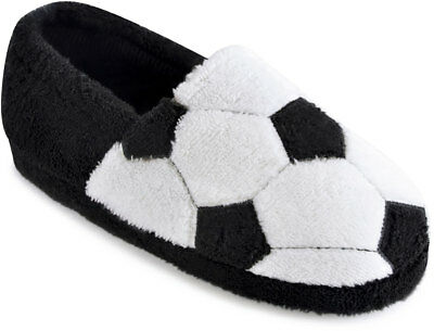 Boys Football Slippers Kids Novelty Shoes