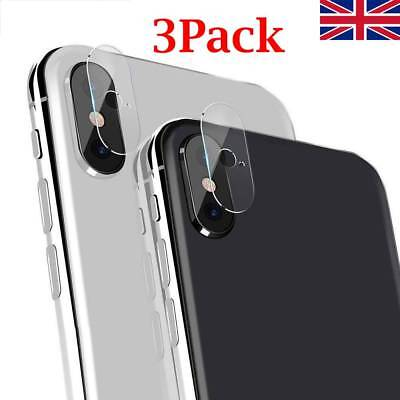 For iPhone XS XR XS Max Camera Lens Protector Tempered Glass Protective Film 3Pc