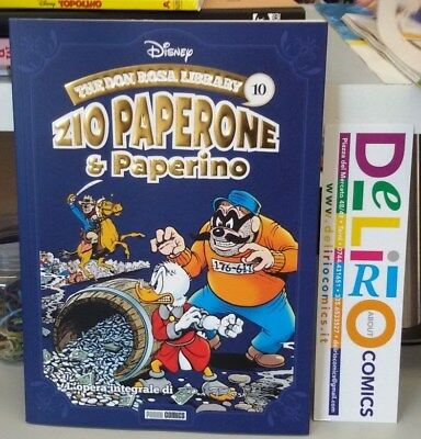THE DON ROSA LIBRARY:ZIO PAPERONE E PAPERINO VOL.10 Ed. PANINI COMICS SCONTO 10%