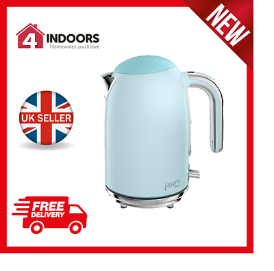 Swan Fearne SK34030PKN 1.7L Quiet Boil 3kW Jug Kettle In Peacock - Brand New