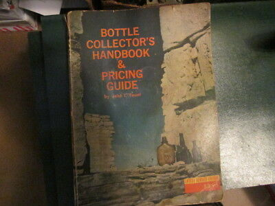 Antique reference book Bottle Collector's Handbook and Price Guide 1972