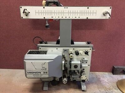 35mm MICROCINE Portable Motion Picture Projector