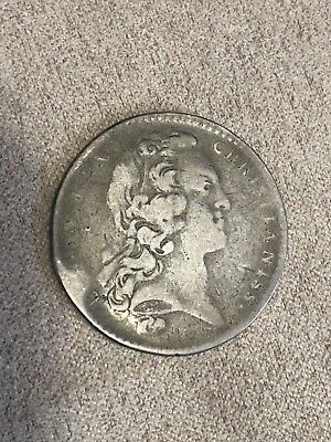 King Louis XV Token Silver Rare France Coin French Medallion From The 1700's