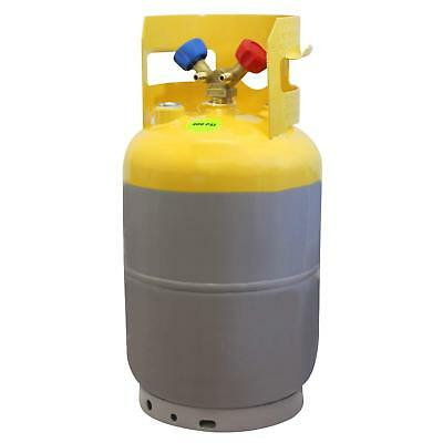 MASTERCOOL 62010 Gray/Yellow 30 lb Refrigerant Recovery Tank without Float