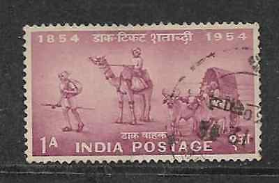 India Postal Issue - 1954 - Used Stamp - Transport - Postage Stamp Centenary