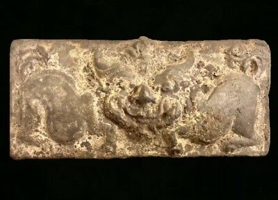 Ancient Chinese Bronze Taotie Plate!! Shang / Zhou Dynasty Very Rare!! Deal!!