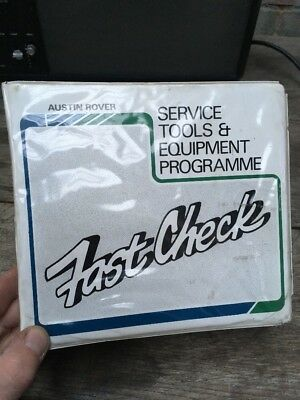 Austin Rover:Fast Check-Electronic Fuel Injection Vintage Diagnostic Tester Tool