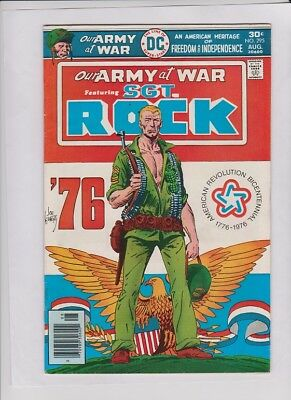 OUR ARMY AT WAR #295 F/VF, classic Joe Kubert cover, Sgt. Rock, Sgt. York story