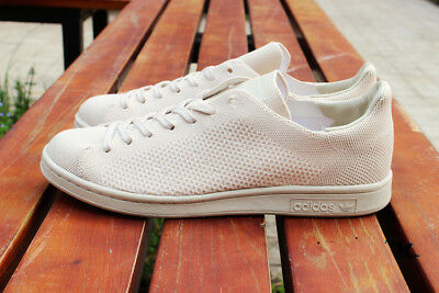 adidas Originals Mens Stan Smith Primeknit Oatmeal Trainers All Sizes RRP £94.99