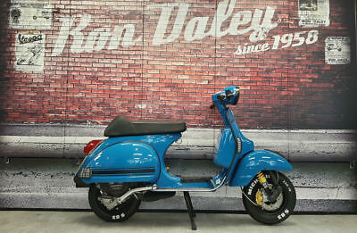 2011 Piaggio Vespa PX 125 Blue. Ron Daley Special Edition 174. Low mileage.
