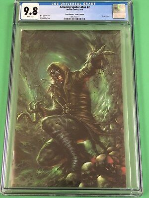 Amazing Spider-Man 2 Cgc 9.8 Lg 803 Lucio Parrillo Virgin New Villain Variant