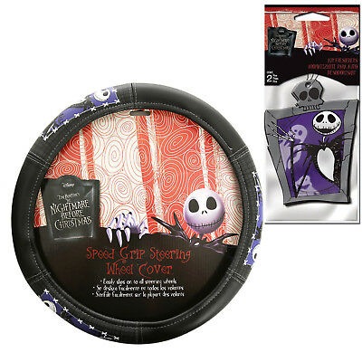 new nightmare before christmas steering wheel cover air freshener - Nightmare Before Christmas Steering Wheel Cover