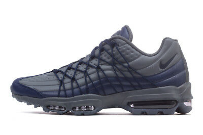 best service 5f1c7 4eb84 Mens Nike Air Max 95 Ultra SE Blue Navy Grey AO9082 403