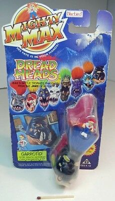 Mighty Max  DREAD  HEADS  /  GARROTID , Originalverpackung  1993