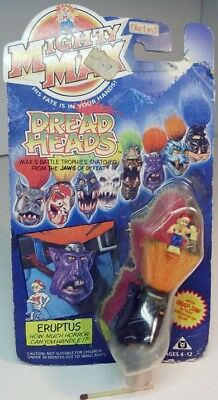 Mighty Max  DREAD  HEADS  /  ERUPTUS , Originalverpackung  1993