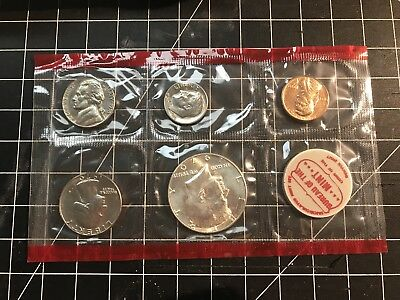 Treasury Department Uncirculated Mint Set 1970