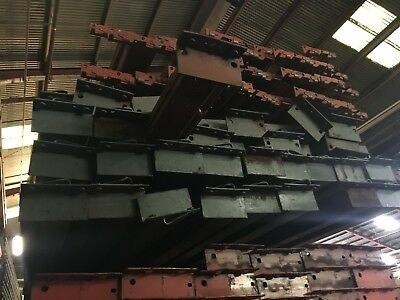 Used Pallet Rack Verticals and Rails - good condition - until 09/14 only