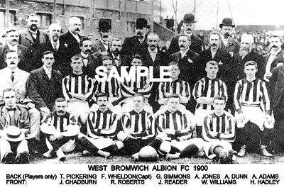 West Bromwich Albion FC 1900 Team Photo