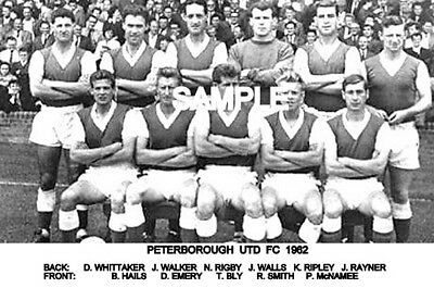 Peterborough Utd FC 1962  Team Photo