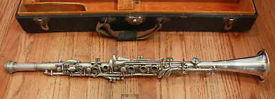Vintage Cundy Bettoney Cadet Metal Clarinet
