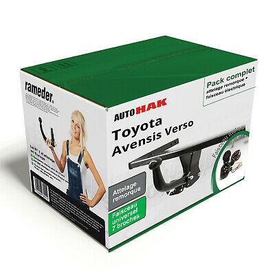 Attelage demontable Toyota Corolla Verso R1 2004//2009 faisceau 7 broches