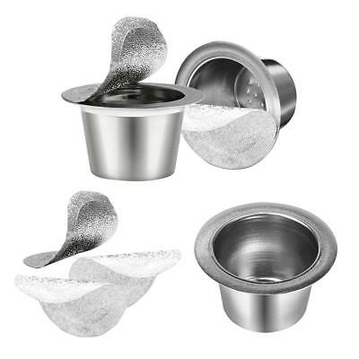 Refillable Reusable Dolce Gusto Coffee Capsules Stainless Steel Filter Seals Kit