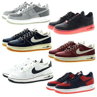 separation shoes 24a26 27d41 Nike 748981 Kids Youth Boys Girls Air Force 1 Premium Basketball Shoes  Sneakers