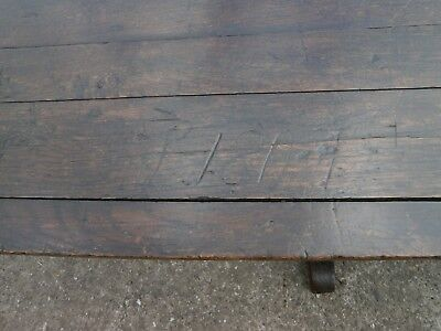 Extremely large Antique period oak refectory table