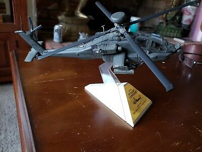 Franklin Mint AH-64 Apache Longbow Attack Helicopter 1/48 Scale Diecast Model